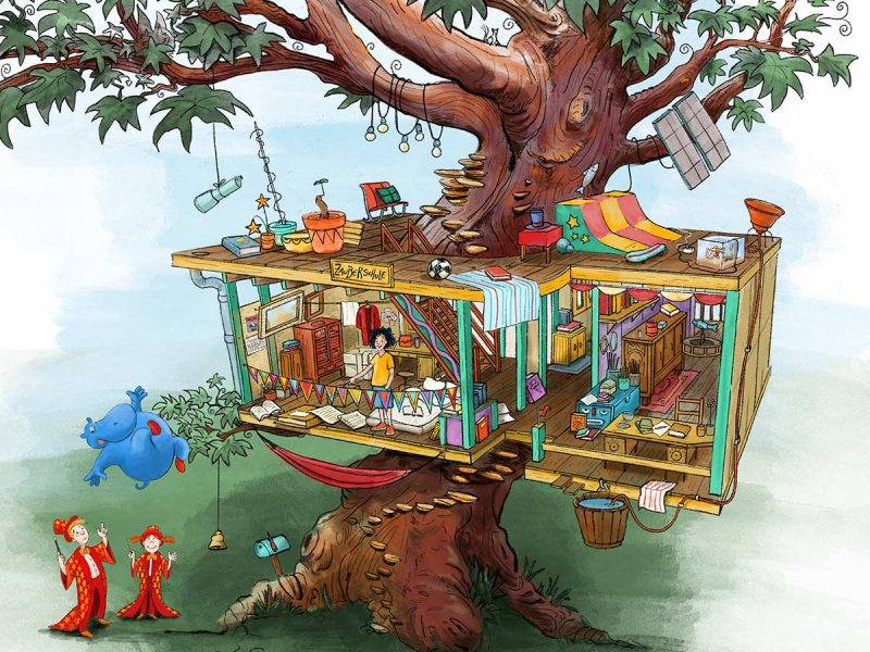 Leo taucht ab! - Kinderbuch Traumsalon edition 2020