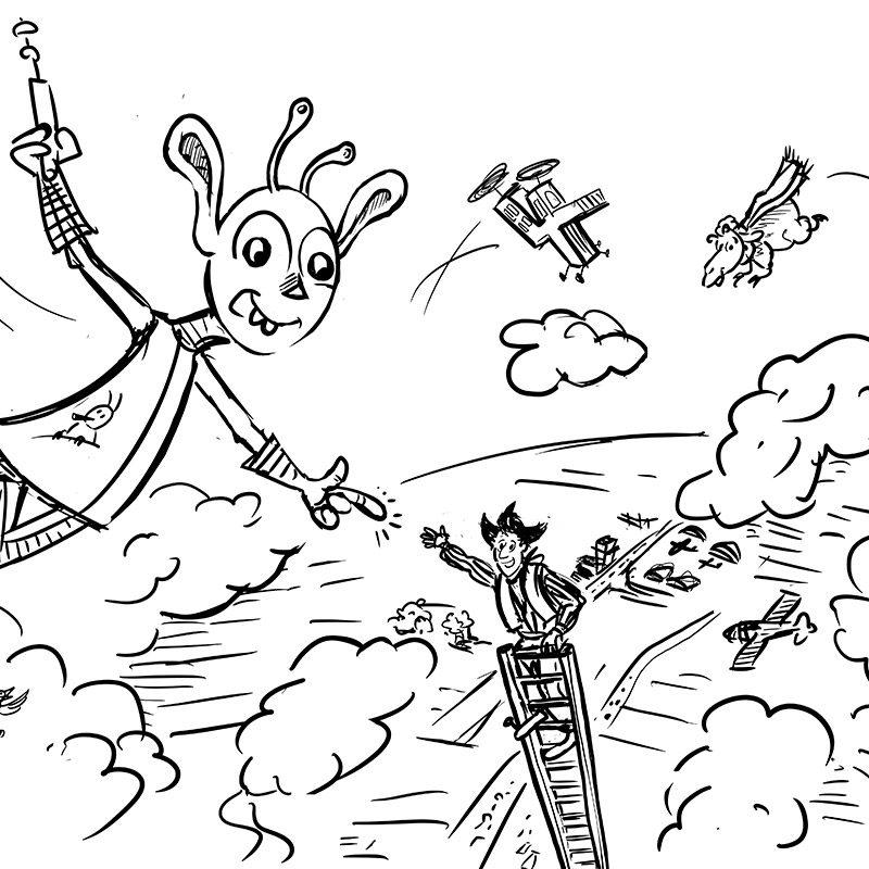 Scribble / Kinderbuch Projekt 2020