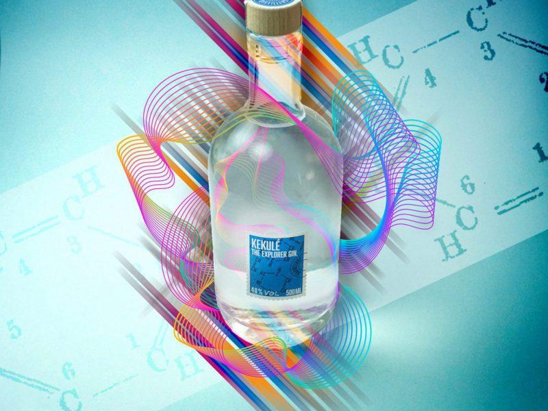 Kekule psychedelic by Darmstadt Distillers