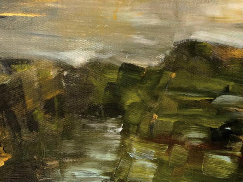 Landschaft - Acryl 2015